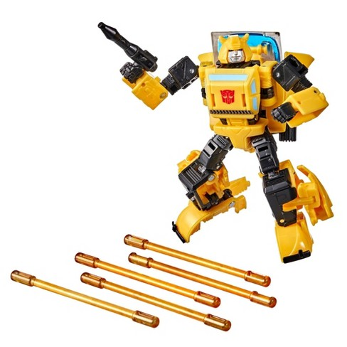 Transformers Buzzworthy Bumblebee War for Cybertron Deluxe Origin Bumblebee - image 1 of 4