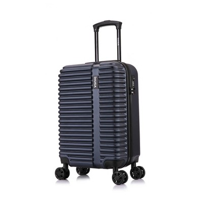 """InUSA Ally 20"""" Lightweight Hardside Carry On Spinner Suitcase"""