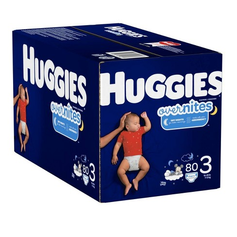 Huggies Overnites Diapers Super Pack Select Size Target