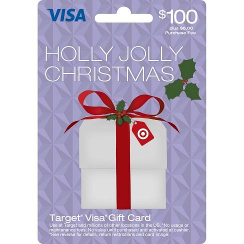 Visa Holiday Gift Card - $100 + $6 fee - image 1 of 1