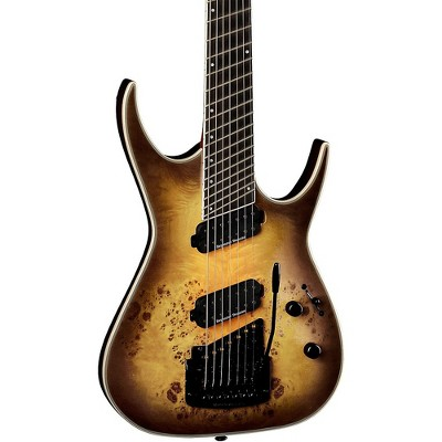 Dean Exile Select 7-String Multi Scale with Kahler Electric Guitar Satin Natural Black Burst