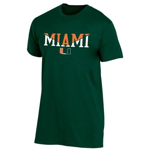 Miami Hurricanes Men's Short Sleeve Core Wordmark T-Shirt - image 1 of 2