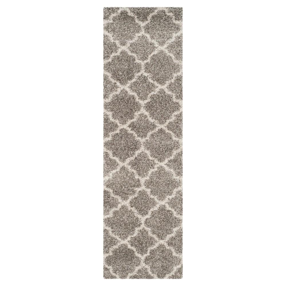 Hudson Shag Rug Gray Ivory 2 39 3 34 X10 39 Safavieh