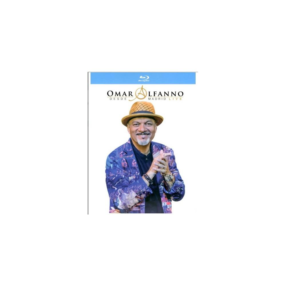 Omar Alfanno Desde Madrid Live (Blu-ray)