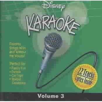 Disney - Karaoke, Volume 3 (Jewel) (CD)
