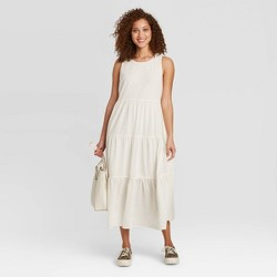 Women's Sleeveless Tiered Dress - A New Day™