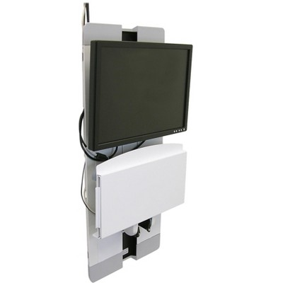"""Ergotron StyleView Monitor Mount for up to 24"""" Screens White (60-593-216)"""