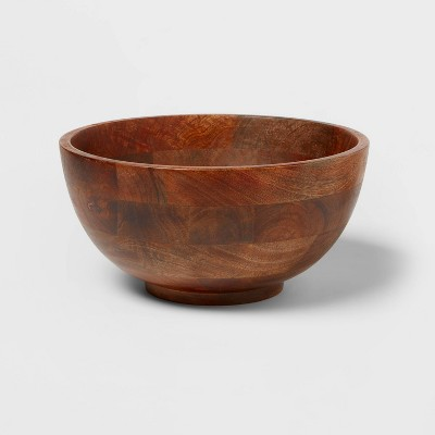 196oz Mango Wood Serving Bowl - Threshold™