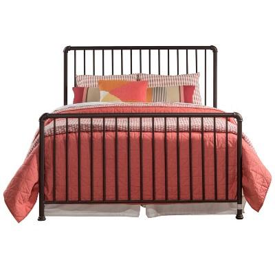 Queen Brandi Metal Bed Set Bronze - Hillsdale Furniture