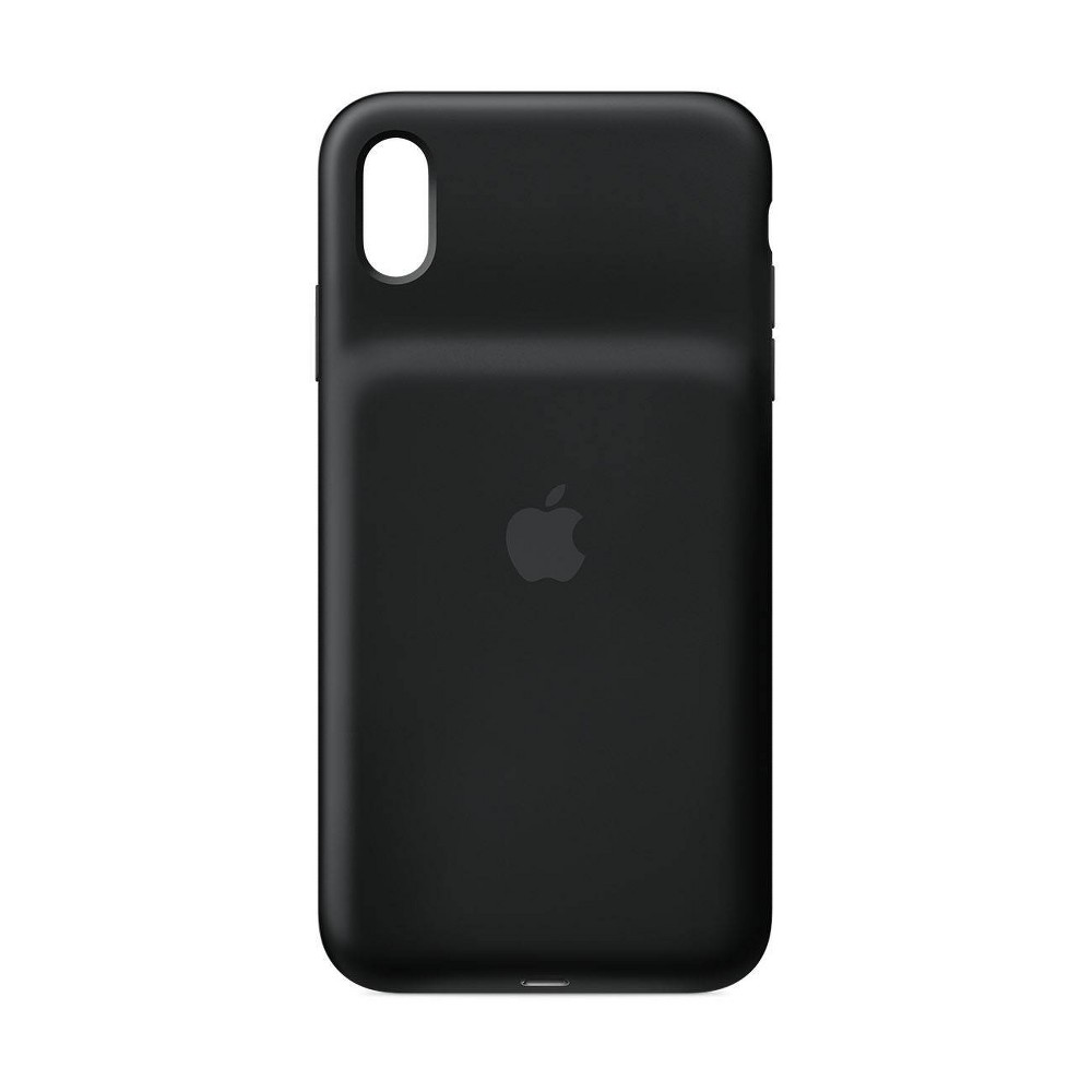 Apple iPhone XS Max Smart Battery Case - Black Apple iPhone XS Max Smart Battery Case - Black Pattern: Solid.