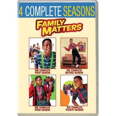 Family Matters: Seasons 1-4 (DVD)