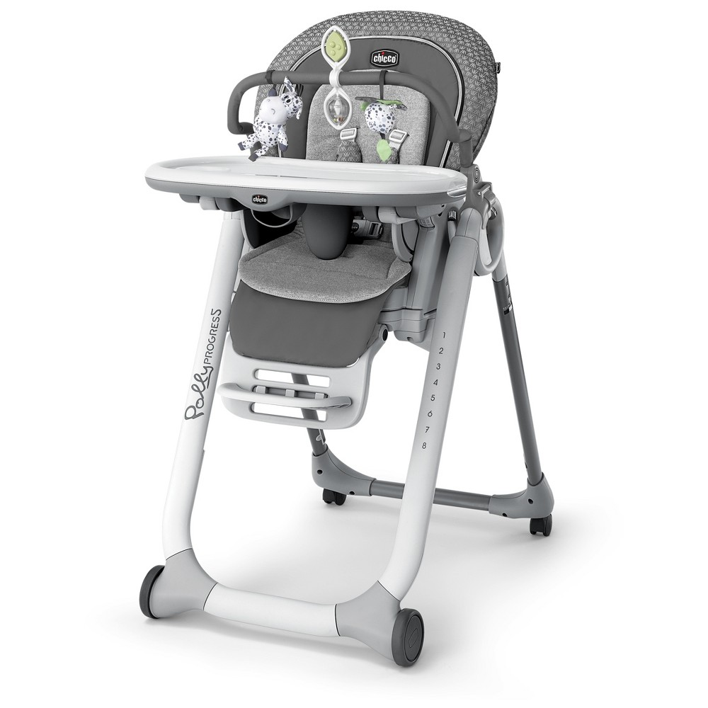 Chicco Polly Progress Relax High Chair - Silhouette, Gray