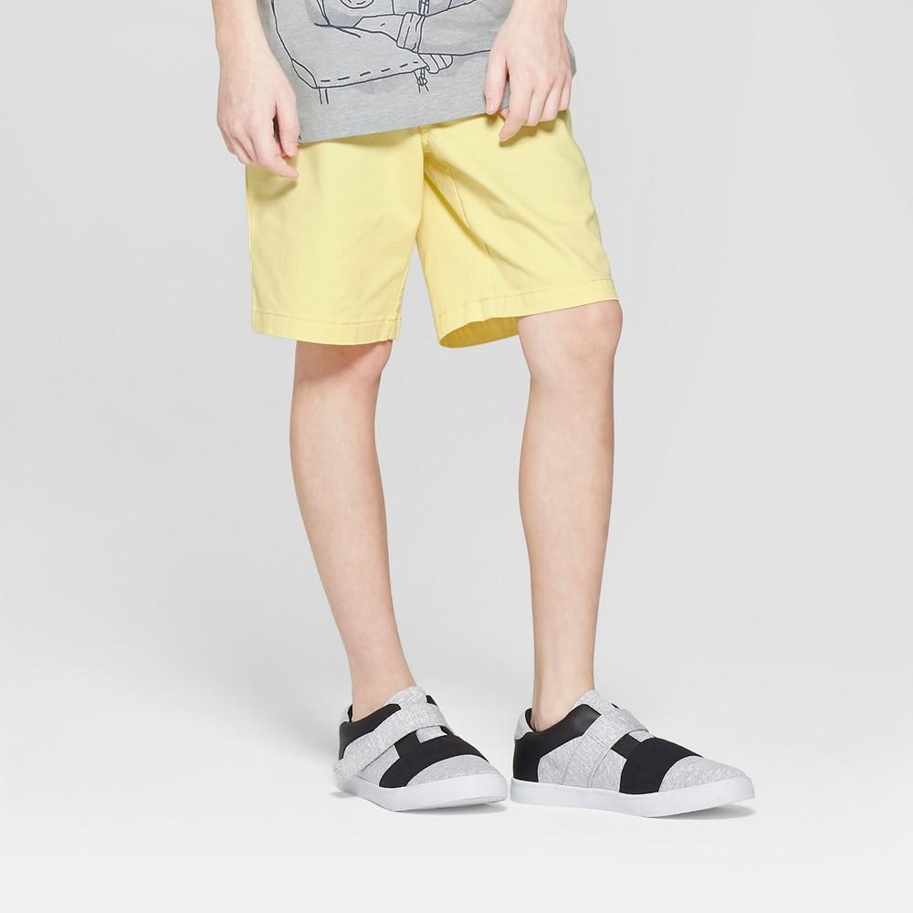 Boys' Stretch Chino Shorts - Cat & Jack Yellow 6