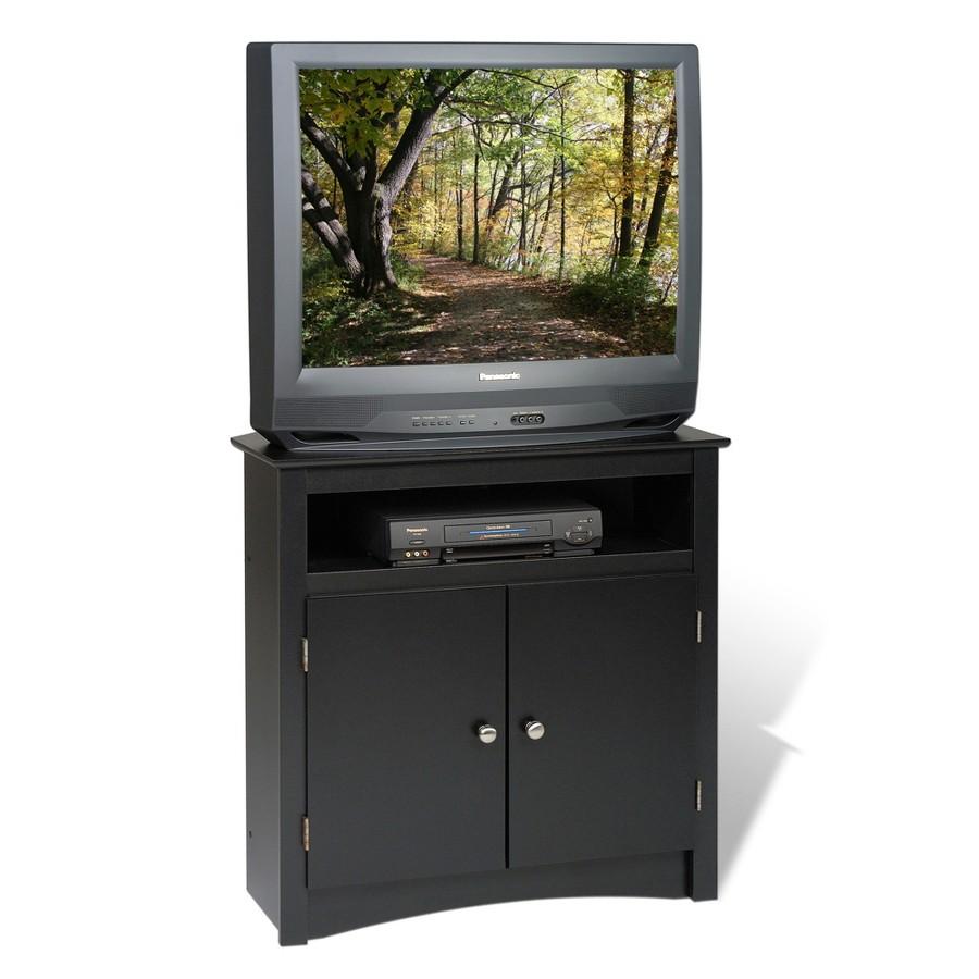 Details about Corner TV Cabinet Black Media Console Table Wood  Entertainment Center Bedroom