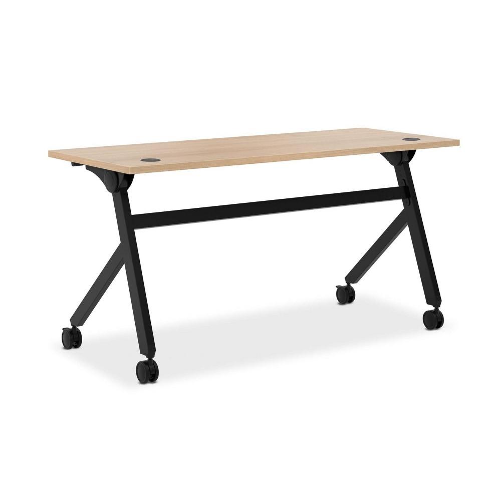 """Image of """"60"""""""" Assemble Flip Base Multi-Purpose Table Wheat - HON"""""""