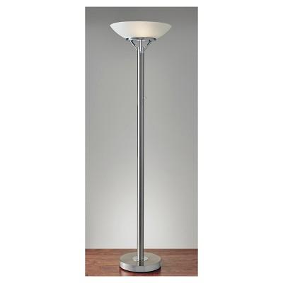 "71.5"" Expo Floor Lamp Silver - Adesso"