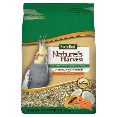 Kaytee Nature's Harvest Cockatiel Food - 4lb