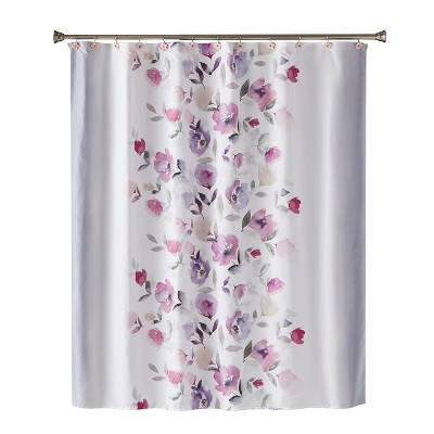 Garden Mist Shower Curtain Purple - Saturday Knight Ltd.