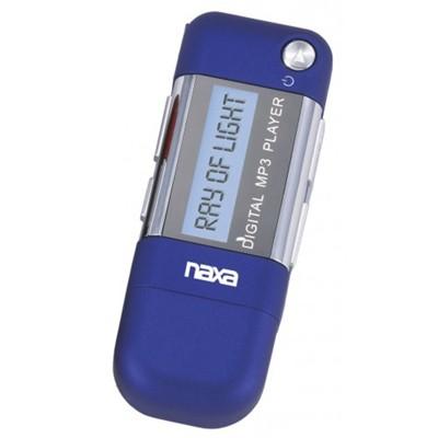 Naxa 4GB MP3 Player in Blue