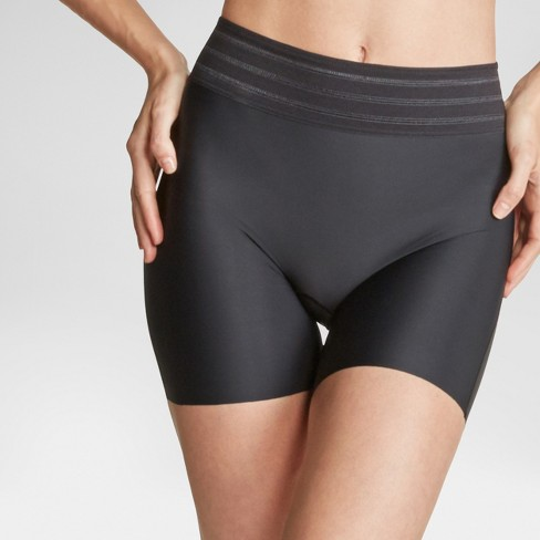 06ebd3c15e Assets® By Spanx® Women s Shaping Micro Girl Short - Very Black S ...
