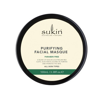 Sukin Purifying Facial Masque - 3.38 fl oz