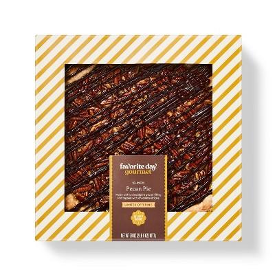 """10"""" Chocolate Pecan Turtle Pie - 48oz - Favorite Day™"""