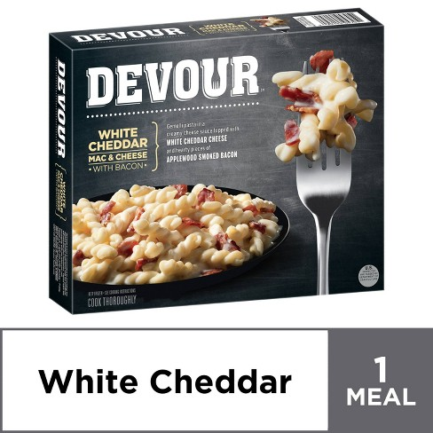 Devour White Cheddar Mac & Cheese with Frozen Bacon - 12oz - image 1 of 4