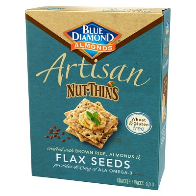Crackers: Blue Diamond Artisan Nut-Thins