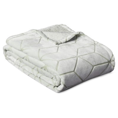 Micromink Plush Blanket (Full/Queen)Chillout Sage - Room Essentials™