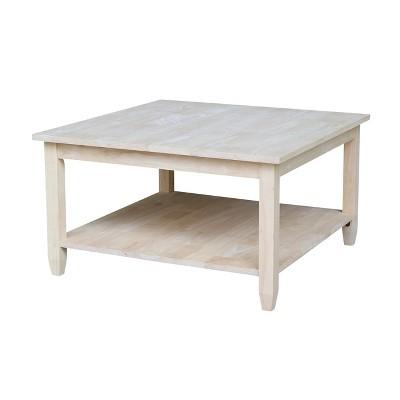 Solano Square Coffee Table - International Concepts