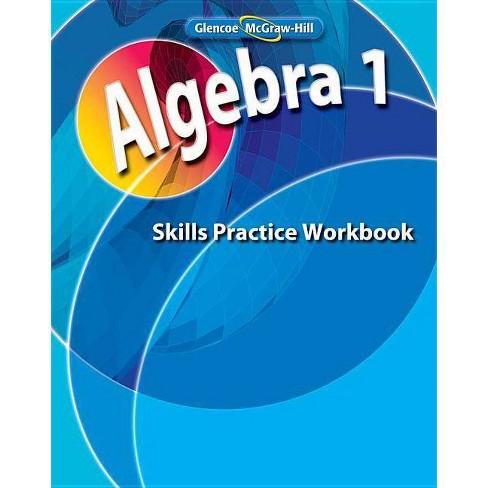 Algebra 1, Skills Practice Workbook - (Merrill Algebra 1) (Paperback) - image 1 of 1