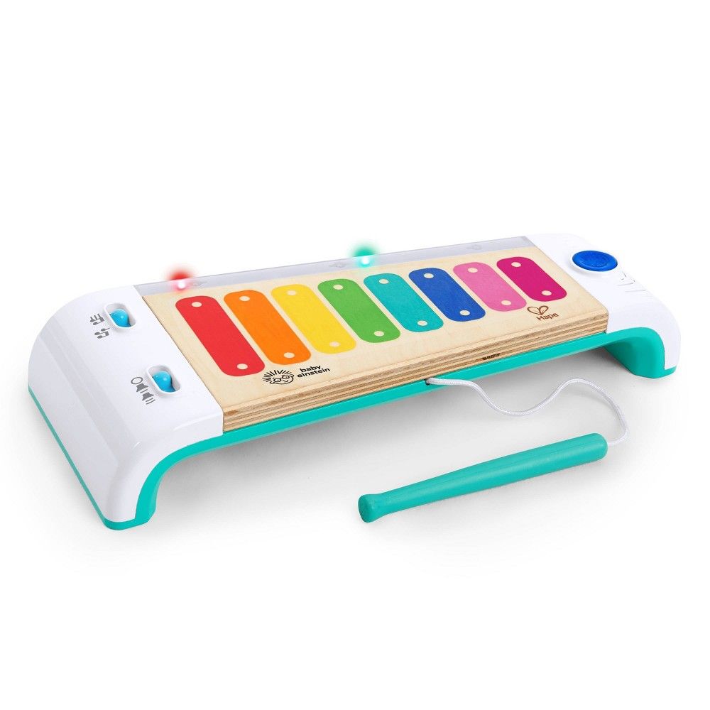 Image of Baby Einstein Magic Touch Xylophone Wooden Musical Toy with Lights