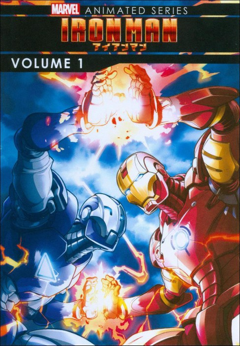 Marvel Iron Man:Animated Series V1 (DVD) - image 1 of 1