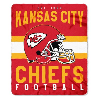 The Northwest Company Kansas City Chiefs Fleece Throw , Red