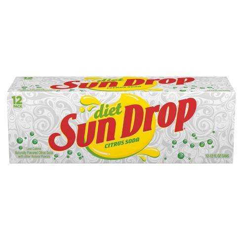 Diet Sun Drop - 12pk/12 fl oz Cans - image 1 of 2