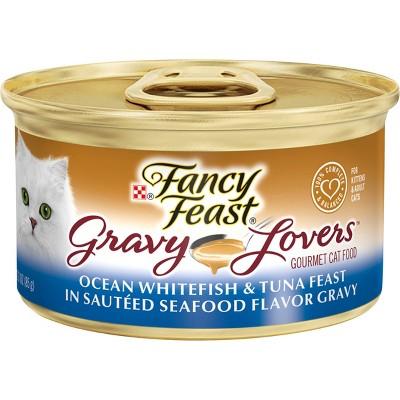 Purina Fancy Feast Gravy Lovers Wet Cat Food Can - 3oz