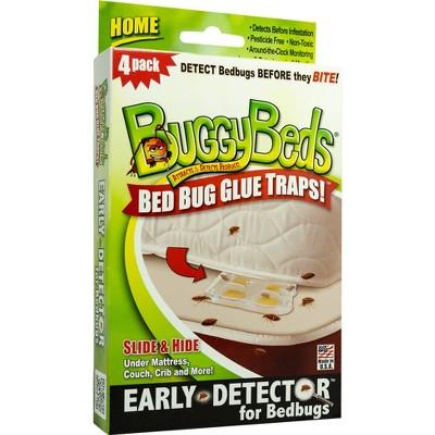 BuggyBeds Bed Bug Glue Trap - 4pk