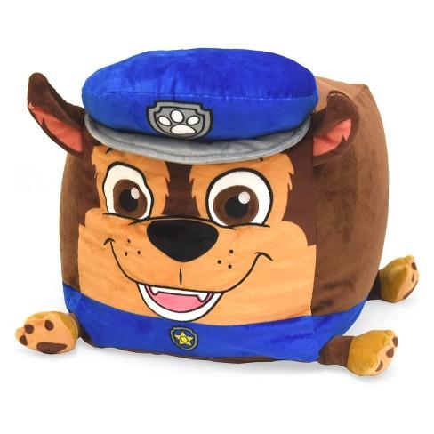 Paw Patrol Chase Kids Bean Bag Floor Cushion - Nickelodeon - image 1 of 2