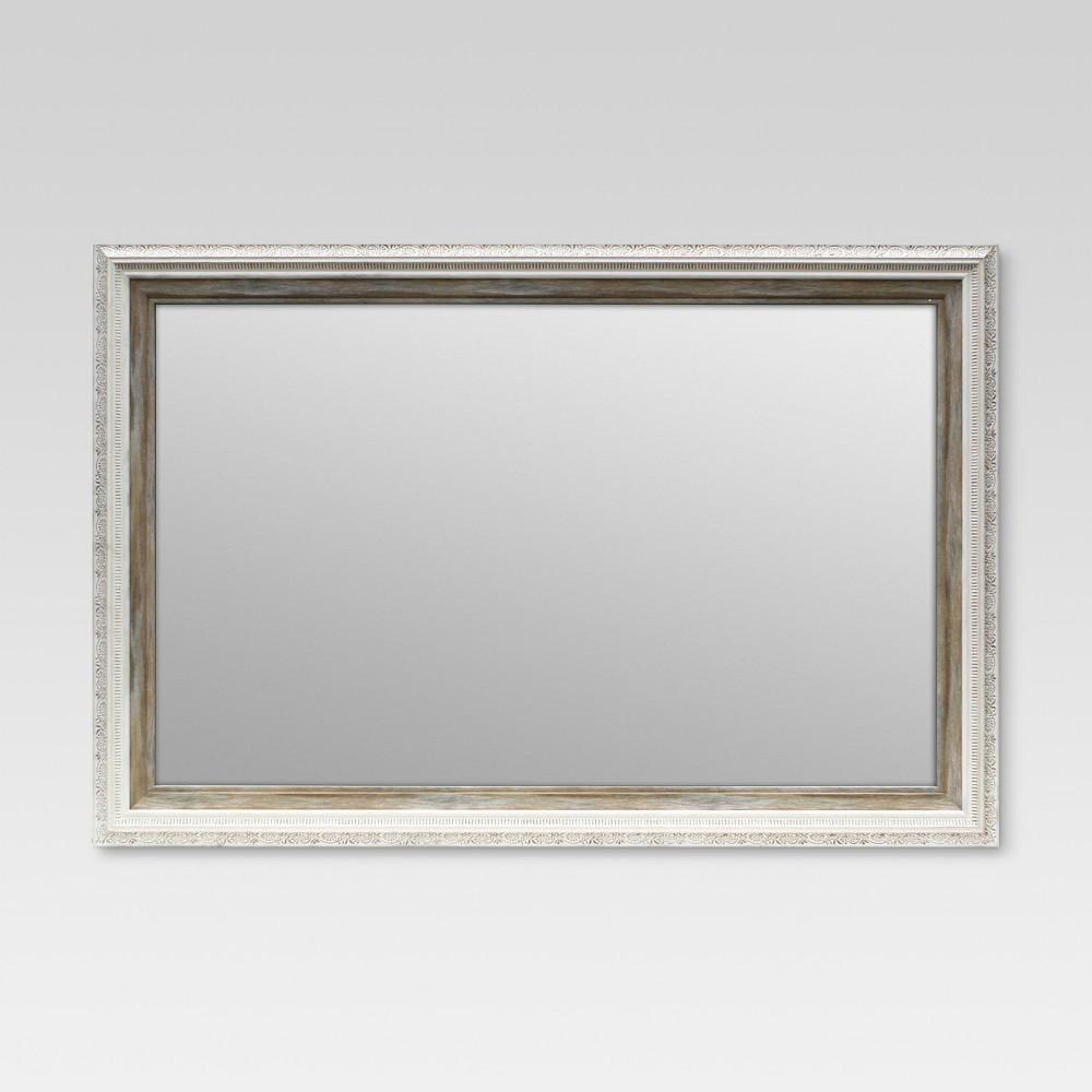 Antique Decorative Wall Mirror - Threshold, Gray