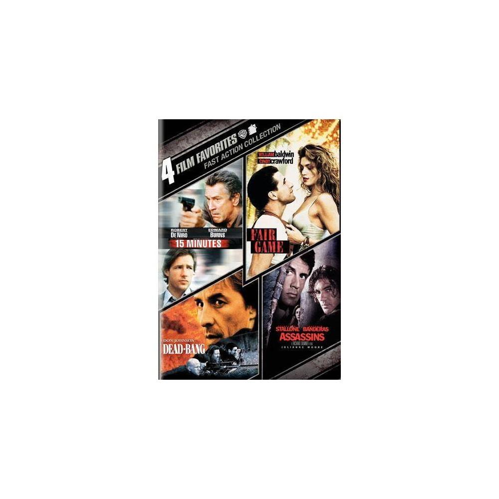 4 Film Favorites Fast Action Dvd 2010