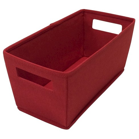 Fabric Storage Bin Red - ITSO™ - image 1 of 1