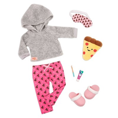 """Our Generation Pajama Outfit for 18"""" Dolls - Pizza Party Dreams"""