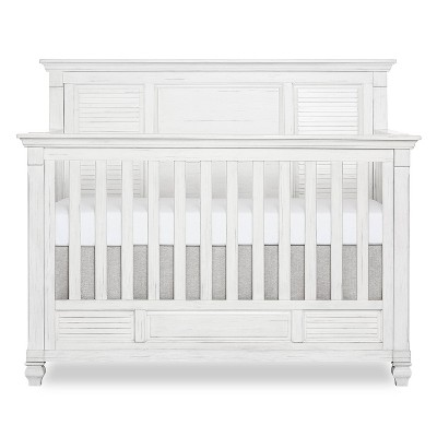 Evolur Signature Cape May 5-in-1 Full Panel Convertible Crib - Weathered White