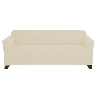 Stretch Velour Sofa Slipcover - Sure Fit