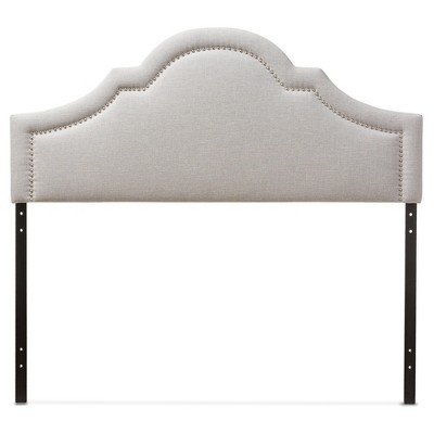 Rita Modern And Contemporary Fabric Upholstered Headboard - Baxton Studio