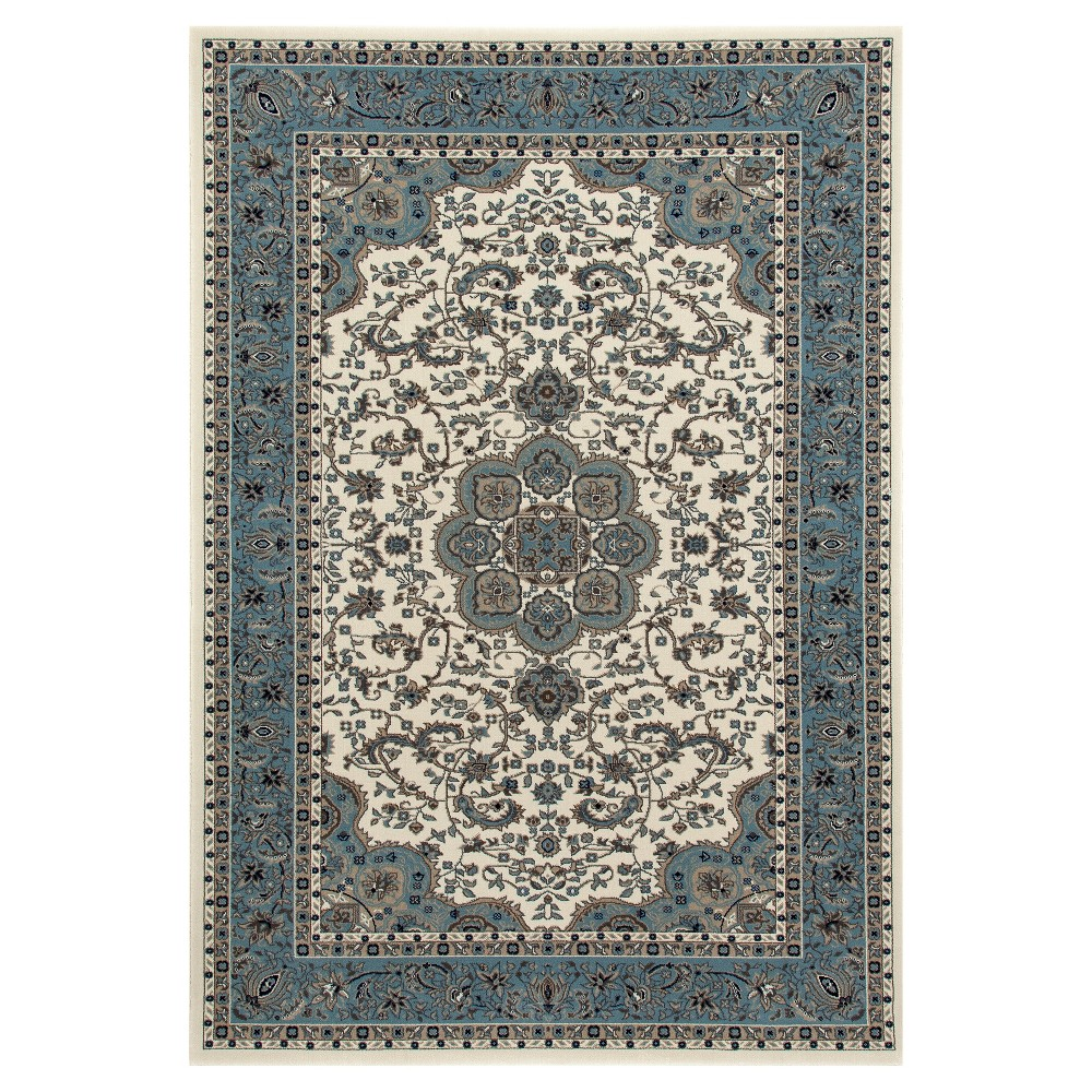 Image of Cream Classic Woven Area Rug - (8'X11') - Art Carpet