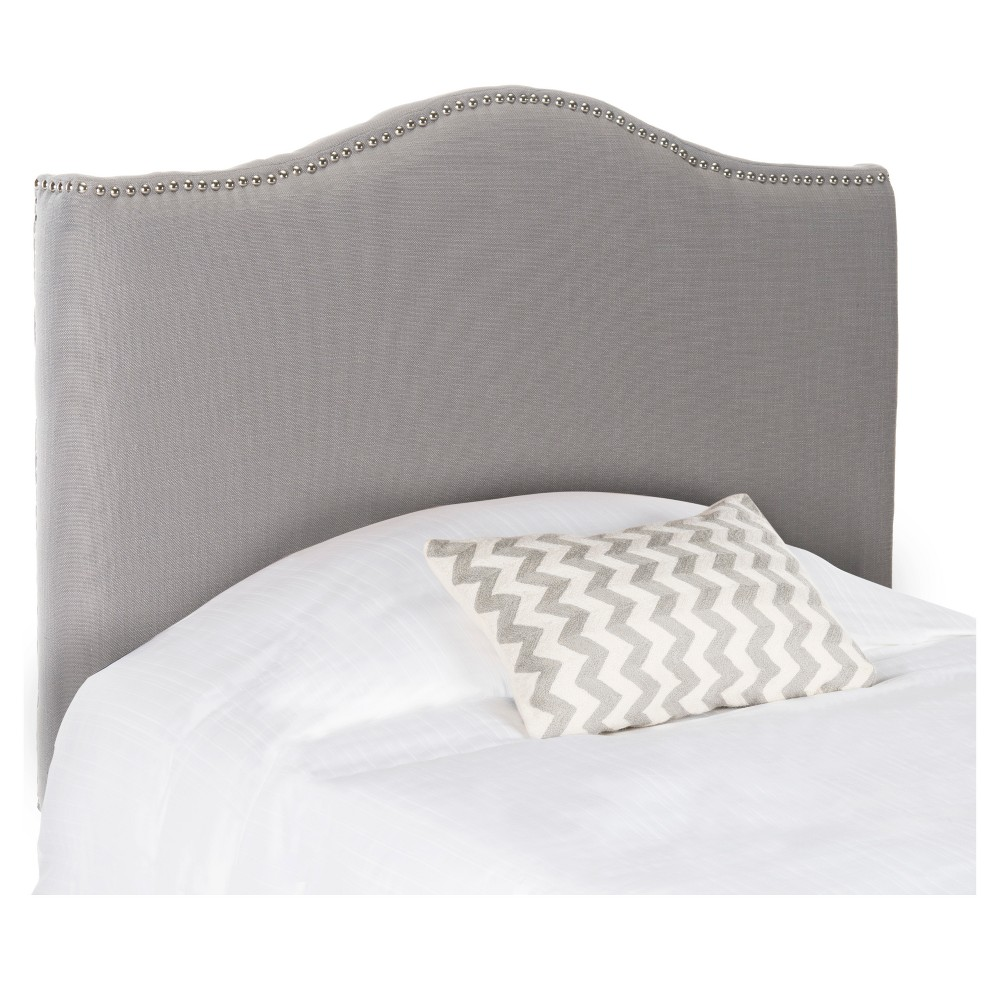 Jeneve Winged Headboard - Arctic Gray (Queen) - Safavieh, Arctic Grey