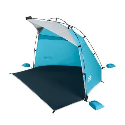 Coleman Skyshade Beach Shade - Caribbean Blue