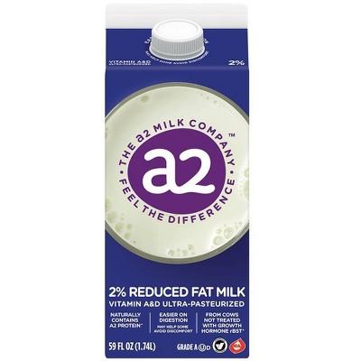a2 Milk 2% Vitamin A & D Ultra-Pasteurized - 59 fl oz
