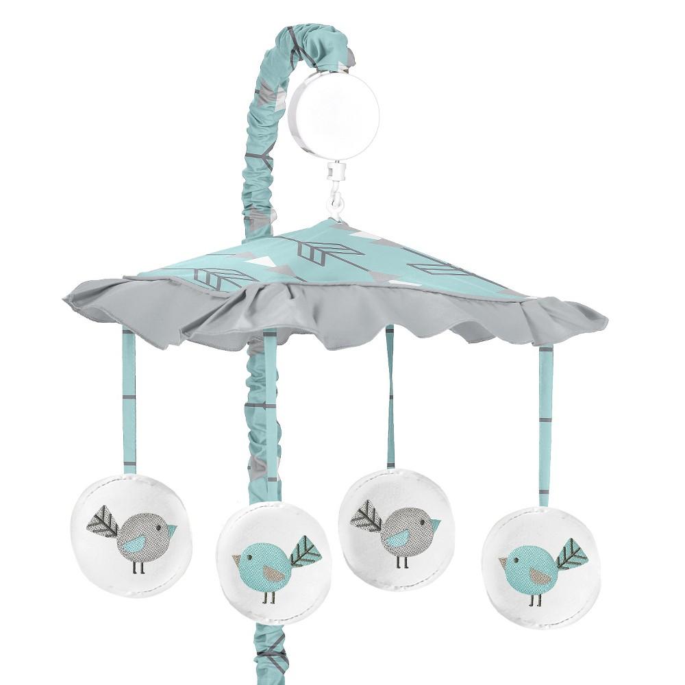 Sweet Jojo Designs Earth & Sky Musical Mobile - Turquoise